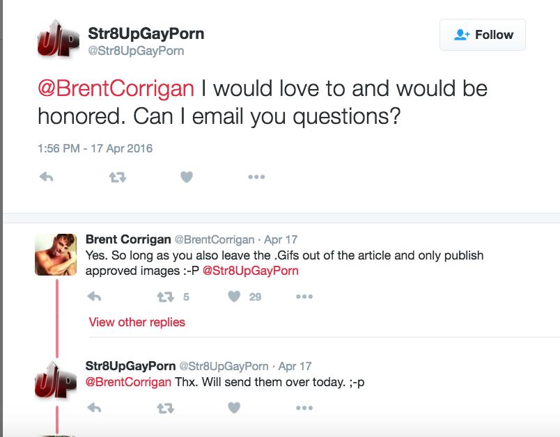 Corrigan Tweets